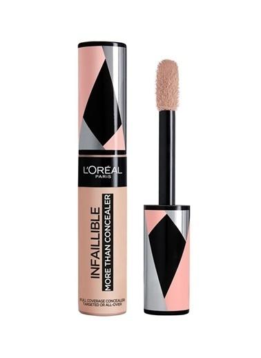 L'Oréal Paris Infaillible e Than Concealer Tüm Yüze Uygulanabilir 323 Numara Fawn Kapatıcı Renksiz
